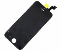 Дисплей iPhone 5S в сборе Черный - AA
